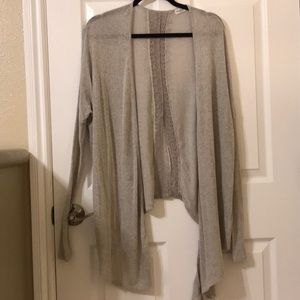 Abercrombie & Fitch sheer cardigan